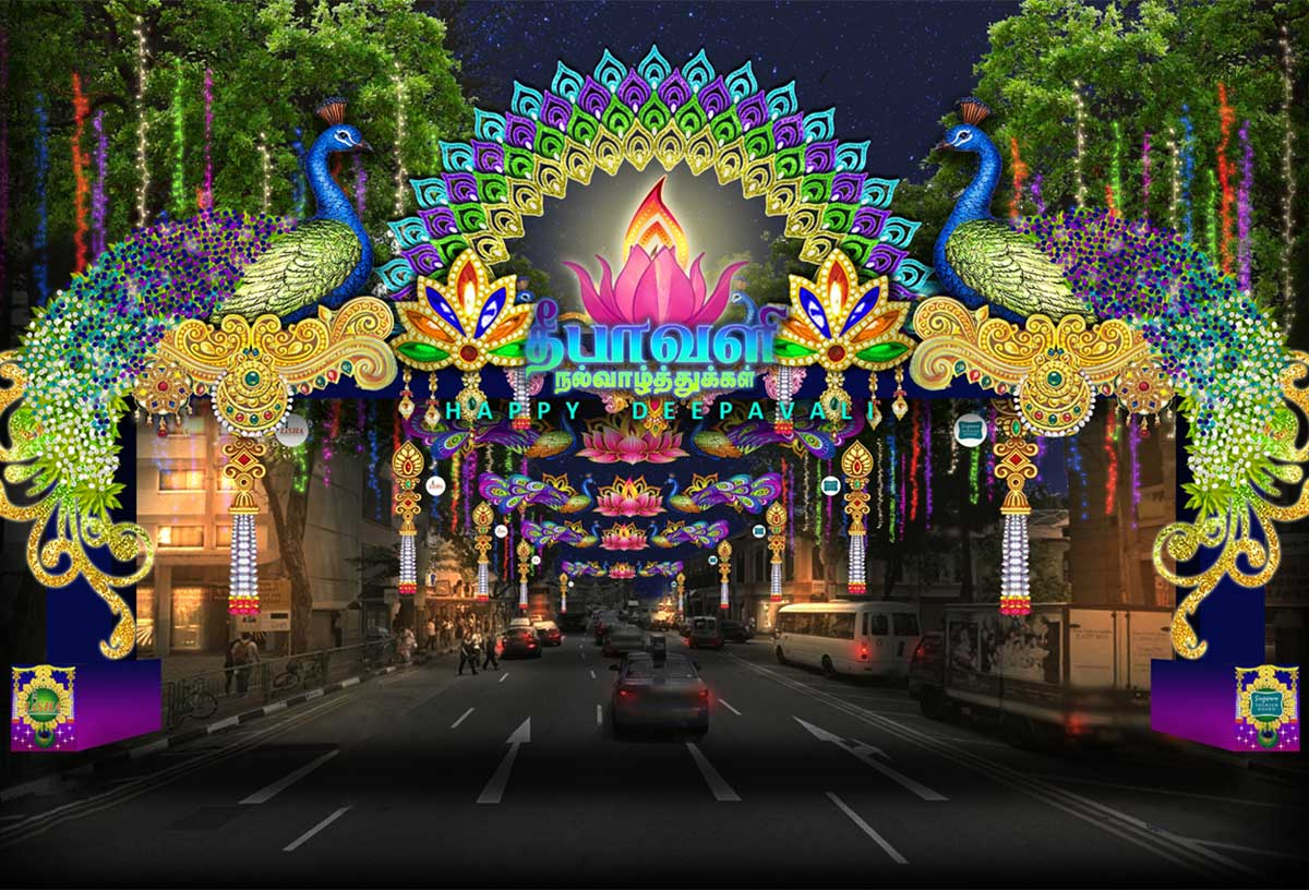 Image result for little india singapore deepavali 2017