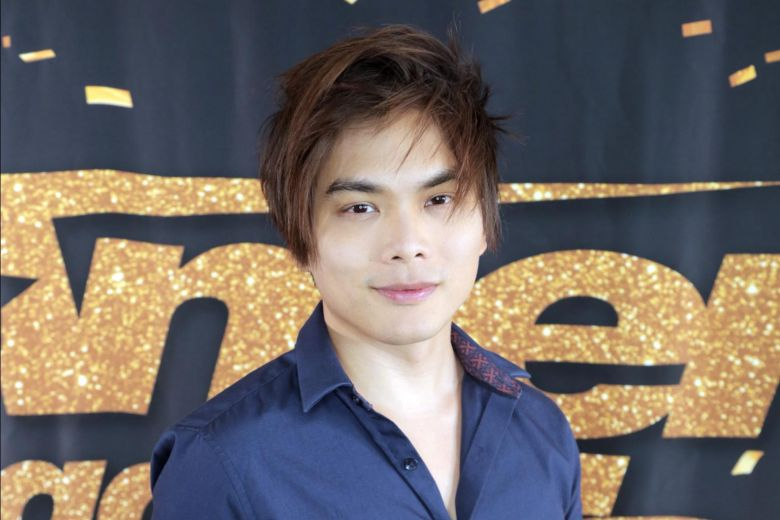 Shin Lim wearing a subtle smile on his face