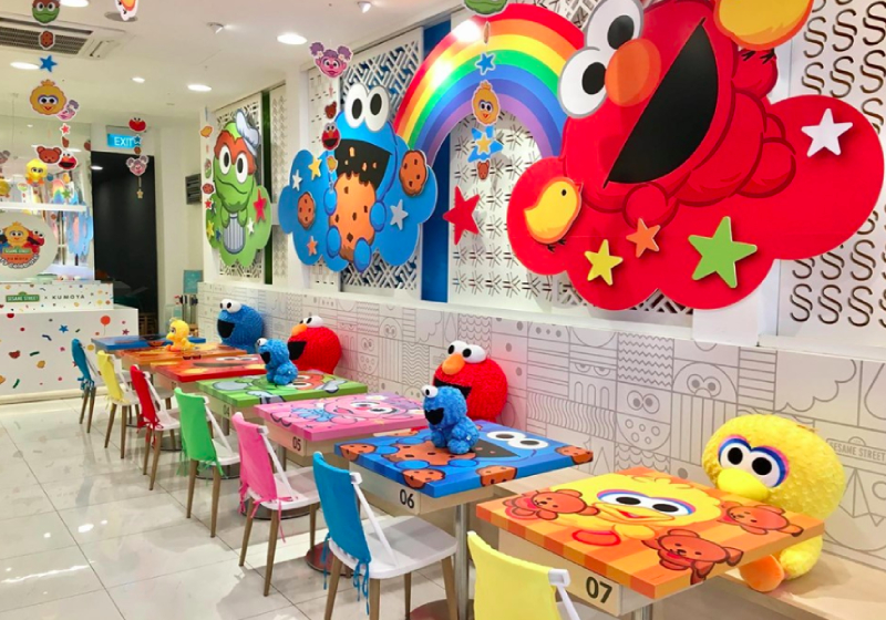 Hang Out With Elmo And Sesame Street Friends At This Cafe