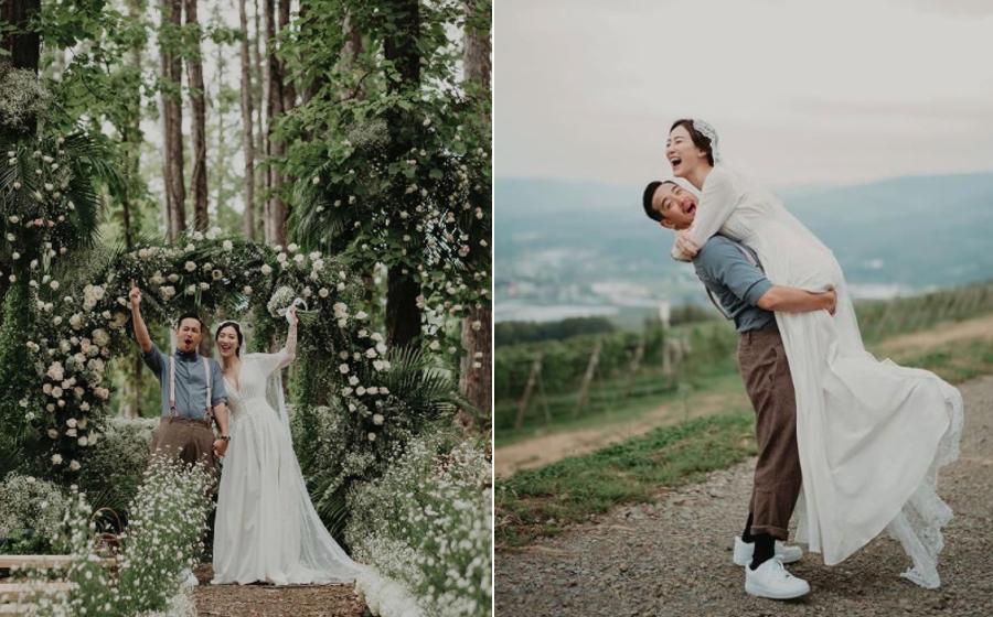 Eric Tsang's son Derek weds actress Venus Wong in Japan