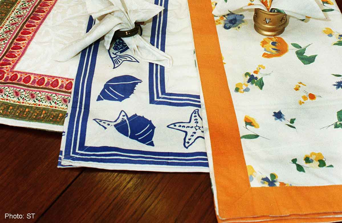 How To Get Smooth, Wrinkle Free Tablecloths, Food News   AsiaOne