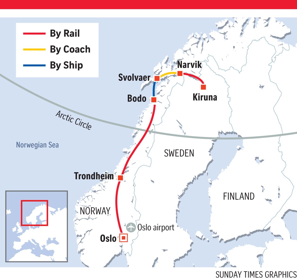 Journey by train and ship to the Arctic Circle Travel News  AsiaOne