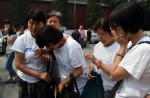Chinese families mark 100th day of MH370's disappearance - 1