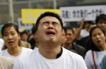 Chinese MH370 relatives protest at Malaysian embassy  - 9