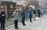 Chinese MH370 relatives protest at Malaysian embassy  - 20
