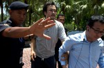 Chinese MH370 relatives protest at Malaysian embassy  - 21