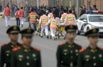 Chinese MH370 relatives protest at Malaysian embassy  - 4