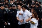 Chinese MH370 relatives protest at Malaysian embassy  - 3