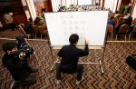 Chinese relatives' anger erupts in Malaysia over lost plane - 52