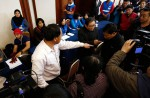 Chinese relatives' anger erupts in Malaysia over lost plane - 51