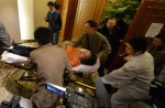 Chinese relatives' anger erupts in Malaysia over lost plane - 9