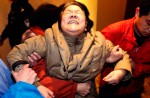 Chinese relatives' anger erupts in Malaysia over lost plane - 7