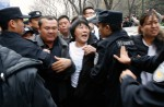 Chinese relatives' anger erupts in Malaysia over lost plane - 1