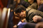 Chinese relatives' anger erupts in Malaysia over lost plane - 42