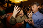Chinese relatives' anger erupts in Malaysia over lost plane - 14