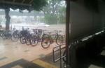 Flash flood along Chai Chee Road - 1