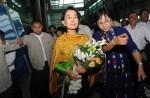 Aung San Suu Kyi's first visit to Singapore - 12