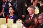 Aung San Suu Kyi's first visit to Singapore - 0