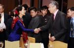 Aung San Suu Kyi on first visit to Singapore - 8