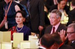 Aung San Suu Kyi on first visit to Singapore - 9