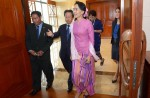 Aung San Suu Kyi on first visit to Singapore - 0