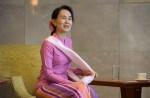 Aung San Suu Kyi on first visit to Singapore - 4