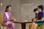 Aung San Suu Kyi on first visit to Singapore - 1