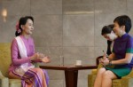 Aung San Suu Kyi on first visit to Singapore - 1