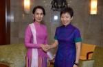 Aung San Suu Kyi on first visit to Singapore - 2