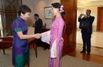 Aung San Suu Kyi on first visit to Singapore - 6