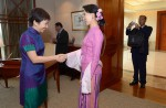 Aung San Suu Kyi on first visit to Singapore - 6