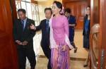 Aung San Suu Kyi's first visit to Singapore - 7