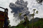 Mount Sinabung erupts - 23