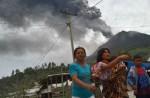 Mount Sinabung erupts - 28