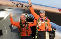 Solar Impulse 2 pilot becomes aviation legend