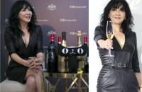 Carina Lau sizzles in sexy black dress to launch her line of wines