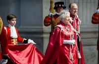 The queen's shopping basket