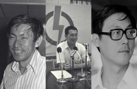 Singapore politicians at their first elections
