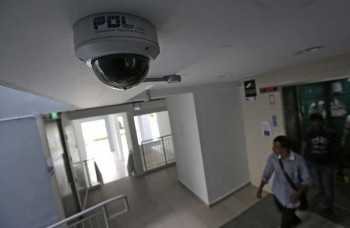 Special cameras in town centres and walkways