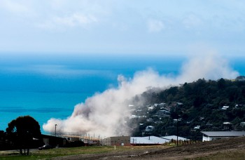 Christchurch rocked by 5.7 magnitude quake, cliffs collapse into sea