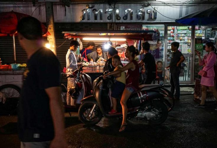 Vendors at Bangkok's famous Khao San Road call on authorities to