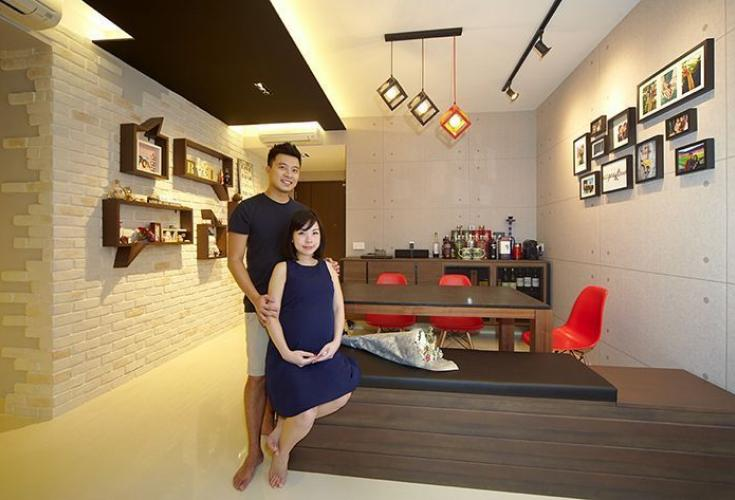 Couple\'s design choices give Pasir Ris EC home simple yet chic ...