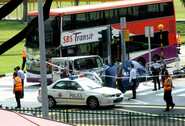 Lorry Driver Arrested After  Pedestrians Killed In Accident Near Yio Chu Kang Mrt Station