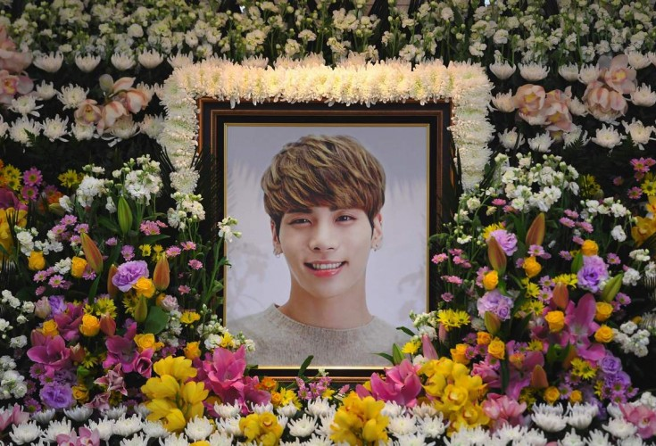 Kim Jonghyun's Coffin Carried by K-Pop Stars at Funeral Service