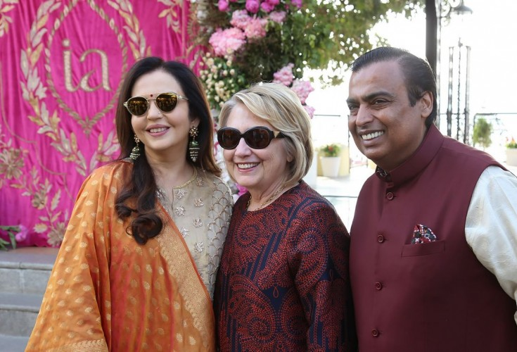 Global corporate leaders touch down in Udaipur for Ambani wedding