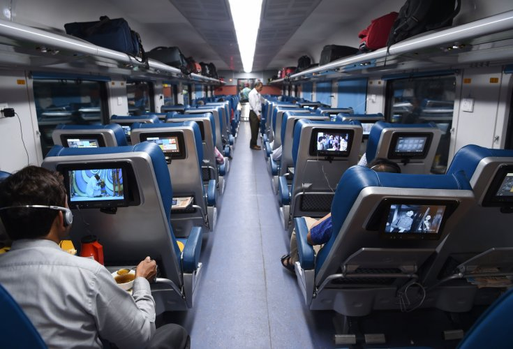 Tejas Express: Headphones stolen, screens damaged. Luxury travel, anyone?
