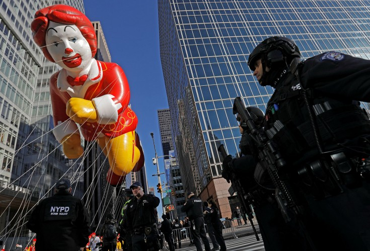 Thanksgiving Parade Balloon Inflation Night