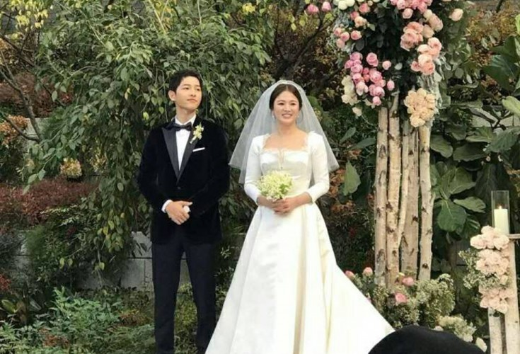 Song couple officially ties the knot