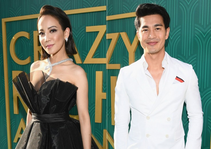 Singapore actors Fiona Xie, Pierre Png work the Crazy Rich Asians red  carpet in LA