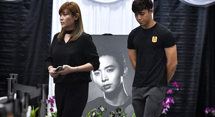 Aloysius Pang S Wake Constant Stream Of People Turn Up On